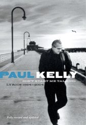 Paul Kelly book cover